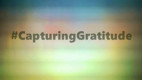 Join the #CapturingGratitude Revolution!