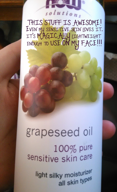 grape seed oil love